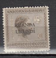 RUANDA URUNDI * YT N° 52 - Ruanda-Urundi
