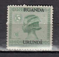 RUANDA URUNDI * YT N° 79 - Ruanda-Urundi