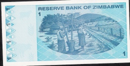 ZIMBABWE P92 1DOLLAR 2009   UNC. - Zimbabwe