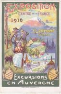 EXPOSITION  Du  CENTRE  De  La  FRANCE  1910.   CLERMONT  FERRAND.............. - Clermont Ferrand