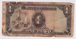 Philippines (Japan Government) 1 Peso P-109 1943 - Philippines