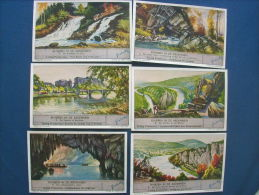 Liebig - Rivieren In De Ardennen - Rivières Des Ardennes - Complete 6 Chromos - S1398 1939 L195 - Liebig