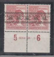 Bizone Bandaufdruck MiNo. 46I ** HAN 6064.48 1 (100.-) - Bizone