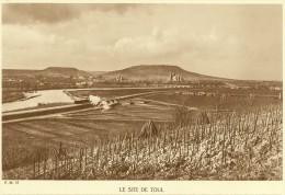 TOUL Vue Générale Voie Ferrée Barine Mont St Michel...() Meurthe Et Moselle (54) - Toul