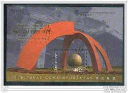 Bloc De China Chine : (44) 1999 Macau Macao - Sculptures Contemporaines SG MS1131** - China