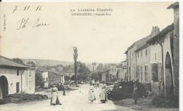 Affracourt  Grande Rue - Otros Municipios