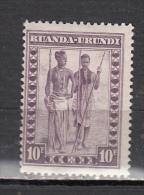 RUANDA URUNDI * YT N� 105