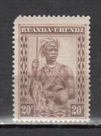 RUANDA URUNDI * YT N� 106