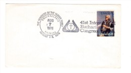 TR11    41° CONGRESSO EUCARISTICO - Eucharistic Congress - Philadelfia USA 1976 - Cristianesimo