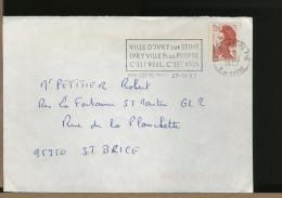 FRANCE  - LOTTO - IVRY - LORIENT - JOSSELIN - VANNES - SOISSONS - 6 Buste - France