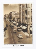 Downtown Beirut  Bab Idriss 1949 Postcard  from Lebanon , carte postale Liban
