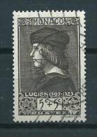 1939 Monaco 5+5 Cent Lucien Grimaldi Used/gebruikt/oblitere - Gebraucht