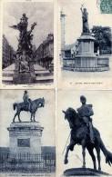 LOT 6 CARTES MONUMENTS - Postcards