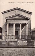 Cpa (33) Bordeaux    Le Temple  Protestant  Rue Notre-dame - Bordeaux