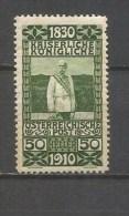 AUSTRIA YVERT NUM. 130 *