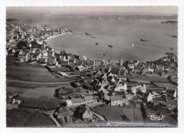 Ile De BATZ--Vue Générale Aérienne Vers Roscoff,cpsm 15 X 10 N° 242-90 A éd Combier--carte Pas Très Courante...à Saisir - Ile-de-Batz