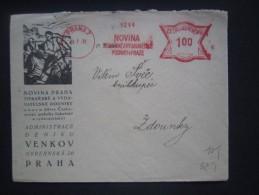 BRIEF Frankotype Freistempel Postfreistempel 1931 PRAHA 7 Novina /// Tm2132 - Briefe U. Dokumente