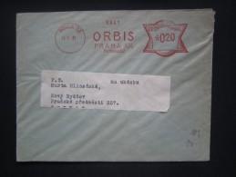 BRIEF Frankotype Freistempel Postfreistempel 1931 PRAHA 31 Orbis // Tm2134 - Briefe U. Dokumente