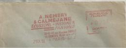 Ecusson, Insigne, Fanion - EMA Havas - Enveloppe  Entière  (P549) - Textiel