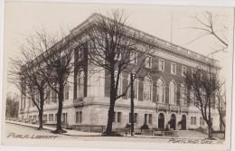ETATS UNIS D´amérique,united States,USA,OREGON,PORTLAN D,1910,CARTE OLD,PUBLIC LIBRARY,CARTE PHOTO - Portland