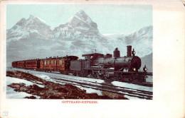 ¤¤ -   LUGANO    -   GOTTHARD-EXPRESS    -  Chemin De Fer , Train   -  ¤¤ - TI Tessin