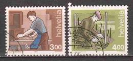 Switzerland 1994 Mi 1523 + 1533 - Zwitserland