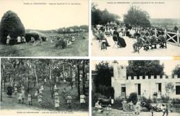 78 GARNES  Vallée De Chevreuse  Très Belle Série De 8 Cartes  Sur La Colonie Agricole De N.D. Des Roses (Très Animée) - Sonstige Gemeinden