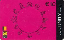 BELGIUM - IDT prepaid card 10 euro, exp.date 12/04, used