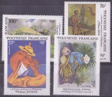 Polynésie N°494/497 -  Neuf ** - Superbe - Nuovi