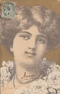 FEMME (ART NOUVEAU) / 1907 - 1900-1949