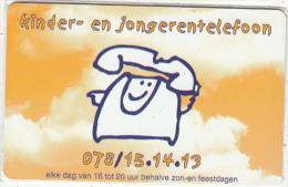 BELGIUM - Kinder en jongerentelefoon, In Touch Telecom promotion prepaid card, tirage 5000, used