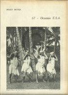 @@@ Oceania USA Related 4 Pages With Photos Out Of  1959 Printed Book
