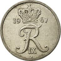 Monnaie, Danemark, Frederik IX, 10 Öre, 1967, TTB+, Copper-nickel, KM:849.1 - Denemarken