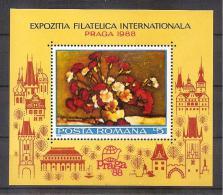 Romania 1988 - Praga '88(Philatelic Expo.) - 1948-.... Republics