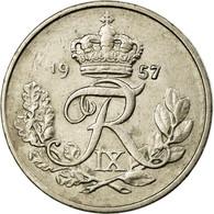 Monnaie, Danemark, Frederik IX, 10 Öre, 1957, TTB, Copper-nickel, KM:841.2 - Denemarken