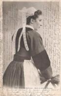 CPA Bretagne - Jeune Fille Du Faouët - Étude Des Coiffes De Bretagne - Bretagne