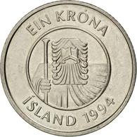 [#43615] Islande, République, 1 Krona 1994, KM 27a - Iceland