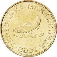 Macédoine, République, 2 Denari 2001, KM 3 - Macédoine
