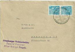 """DDR 1957 Brief Ab Altenberg Mit SoSt. """"Sommerfrische ..."""" [3252] - DDR"""