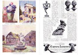 Journal Illustré CHANTECLAIR 248 08-09 1928 Numéro Spécial Consacré Au 9ème SALON DES Peintres MEDECINS Géo Cim ... - Biographie
