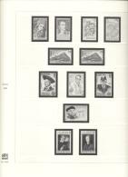 CEPT Gemeinschaftsausgaben Safe No 2256 Vordruckblätter 1980 - 1985 Komplett Gebraucht Ohne Marken - Albums & Binders