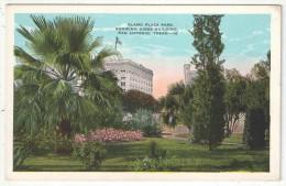 Alamo Plaza Park Showing Gibbs Building, San Antonio, Texas - San Antonio