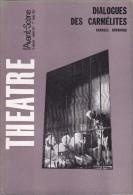 Avant-Scène Théâtre N° 337 - Dialogue Des Carmélites De Georges Bernanos - Théâtre