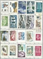 MIX   SU  PAGINA  QUADERNO  FRANCOBOLLI - USATI - Lots & Kiloware (max. 999 Stück)