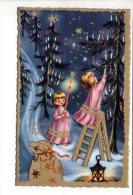 Noël / Joyeux Noël - Enfants - Sapin - Dessin Ou Illustrateur à Identifier - Ohne Zuordnung