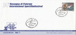 1558FM- PALERMO SPORTS FILM FESTIVAL, ATHLETICS, SPECIAL COVER, 1993, ITALY