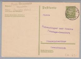 DR 1933-04-24 Oehringen Grenzrayon PK>Oberwinterthur (RL) - Deutschland