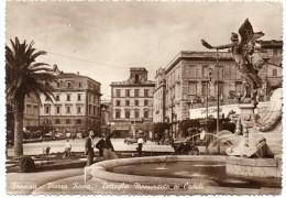 LAZIO-ROMA-FRASCATI VEDUTA PIAZZA ROMA DETTAGLIO MONUMENTO AI CADUTI ANNI 40/50 - Altre Città