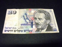 ISRAEL 20 New Sheqalim 1993,pick N°54 C,ISRAEL - Israel