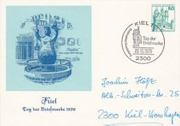 APP 103/41  Kiel - Tag Der Briefmarke 1979, Kiel 1 - Privatpostkarten - Gebraucht